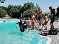 обучение плаванию под водой
